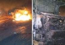 truck-collision-two-trucks-collided-in-singrauli-driver-burnt-alive-in-mp