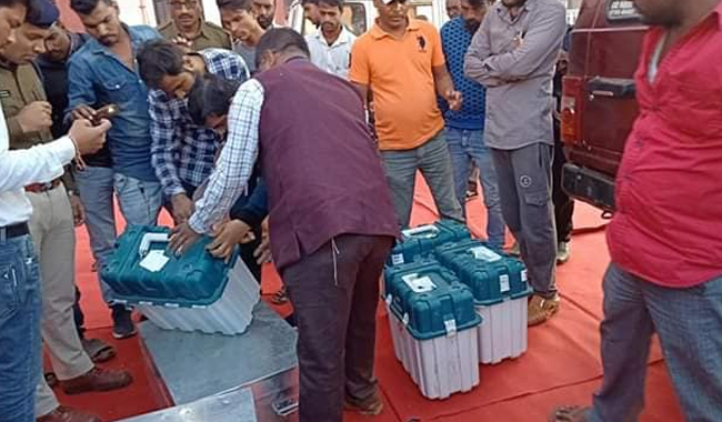 mp-election-commission-inquiry-on-evm-issue-in-sagar-