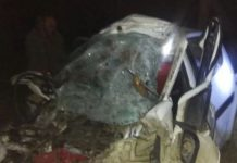 big-road-accident-in-koshambi-up-6-person-killed-from-sagar-