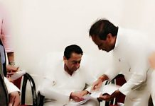 dubey-met-cm-demand-letter-for-several-works-of-Bhind-district