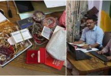 lokayukta-raid-on-three-bases-of-clerks-of-land-record-department-at-gwalior