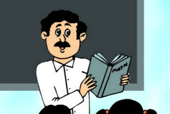 teacher-will-give-exam-with-Keeping-the-book-