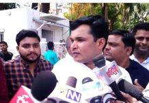 Nursing-students-protest-bhopal-madhyrpadesh