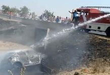 road-accident-in-ratlam--mother-and-daughter-death-and-father-injured-