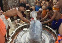 maha-shivratri-2019-echo-of-Har-Har-Mahadev-in-the-shiv-tempel--Mahakal-Darshan