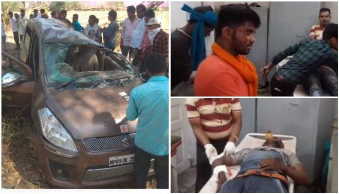 a-road-accident-in-badnagar-road-ujjain-madhypradesh
