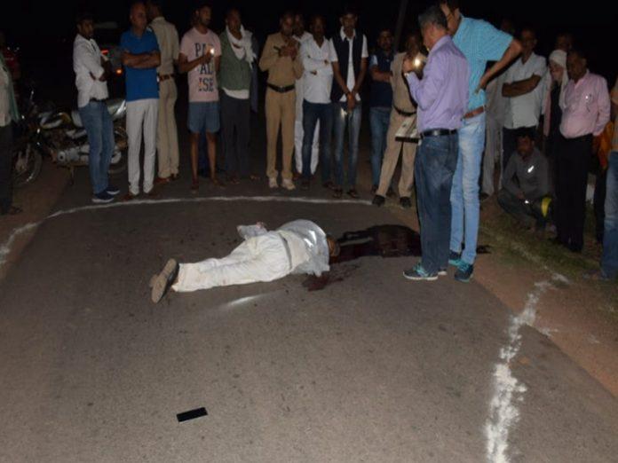 भाजपा नेता ज्ञान सिंह गहरवार की हत्या कर दी गई है।