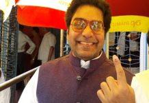 film-star-ashutosh-rana-cast-his-vote