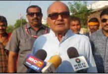 Former-minister-Jayant-Malaiya-voted-damoh-lok-sabha-elections-2019-