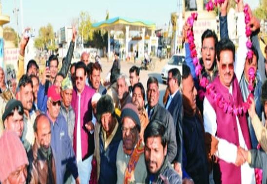 rajasthan-minister-udaylal-ji-welcome