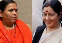 Uma-Bharti-saddened-by-Sushma's-death