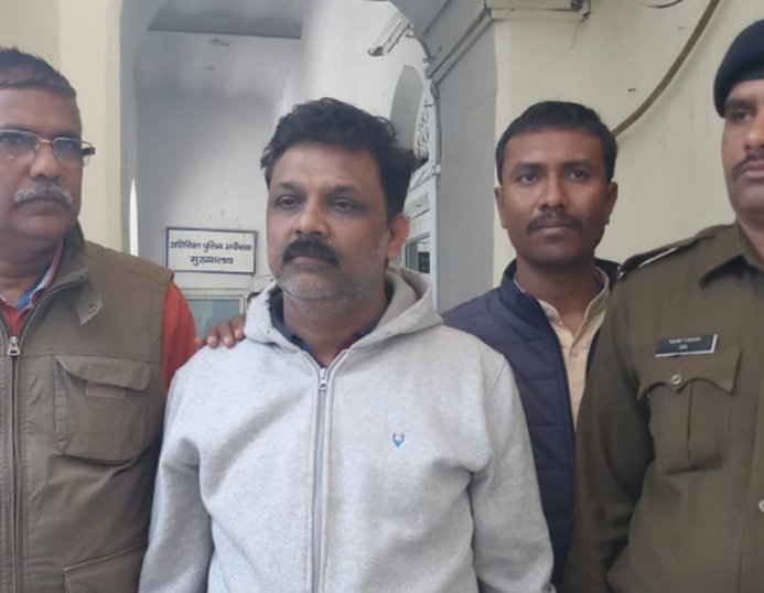 liquor-scam-main-accused-arrest-in-indore