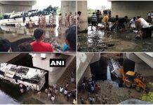 29-passengers-dead-after-bus-skids-off-yamuna-expressway-near-agra