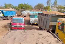 revenue-department-action-against-over-loaded-sand-truck