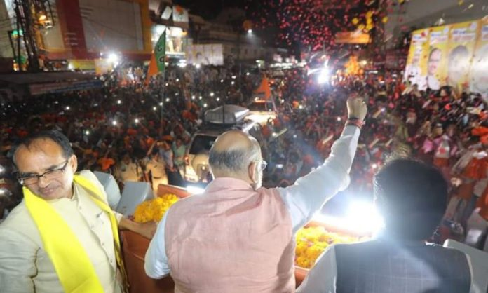 bjp-happy-after-amit-shah-successful-road-show-in-bhopal--