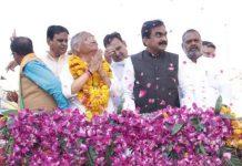 bjp-president-rakesh-singh-road-show-in-gwalior-