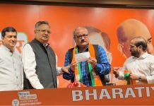 actor-arun-bakshi-joins-bjp-in-the-presence-of-party-leader-and-former-chhattisgarh-cm-raman
