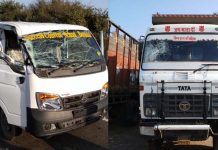 accident-in-bhopal-dumper-hit-school-van-