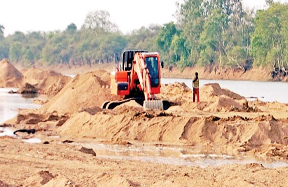 Government-forgot-after-making-policy-of-sand-mining-