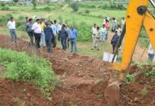 Collector-inspects-water-conservation-efforts