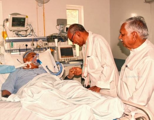 former-cm-kailash-joshi-admitted-in-hospital-of-bhopal-