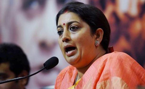 mp-election-Smriti-Irani's-attack-on-Kamal-Nath's-statement-on-women