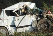 -Painful-Incident---Five-dead-in-car-and-truck-crash-in-katni-jabalpur-bypass-