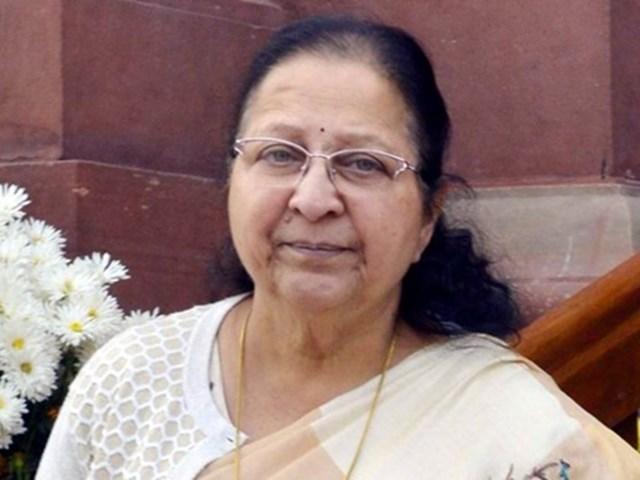 sumitra-mahajans-objection-to-the-massage-in-trains-madhya-pradesh