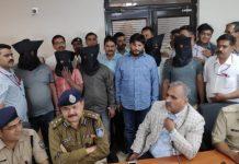 badamash-bhima-and-Ajay-Jadeja-arrested-by-gwalior-crime-brance
