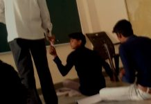 Teacher's-video-viral-taking-money-from-students