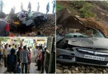 jcb-and-car-accident-in-rajgarh-district-car-driver-died-and-five-people-injured