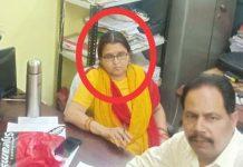 -Lokayukta-action-Panchayat-Inspector-kanchan-jha-caught-takes-bribe-in-jabalpur