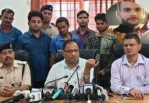 BJP-worker-murderer-arrest-in-jabalpur