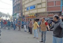 Protest-against-Pulwama-attack-by-making-human-chain