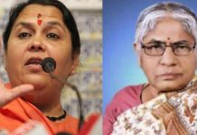 mp-election-angry-minister-kusum-mahdele-now-questions-raise-on-Uma-Bharti