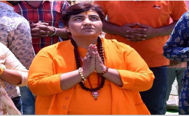 after-controversial-statement-sadhvi-pragya-thakur-made-silent-vow-bhopal