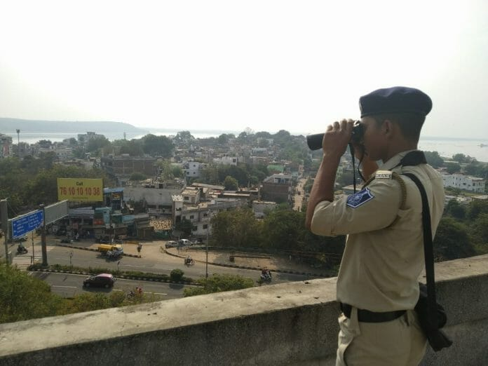 police-security-tight-in-Bhopal-on-visit-of-pm-and-rajnath-singh