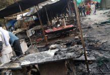 fire-in-bhedghat-market-More-than-two-dozen-shops-destroy-