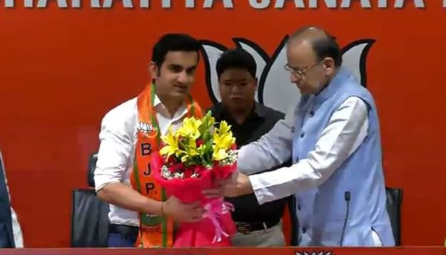 ex-cricketer-Gautam-Gambhir-joins-BJP-may-be-contest-election-on-this-seat