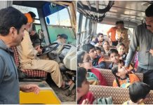 transport-minister-govind-sing-rajput-check-school-buses-in-bhopal