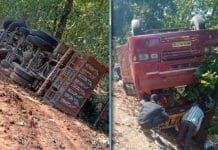 bus-and-truck-collide-in-sidhi