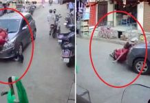 Incident-not-less-than-miracle-car-hit-child-incident-record-in-cctv
