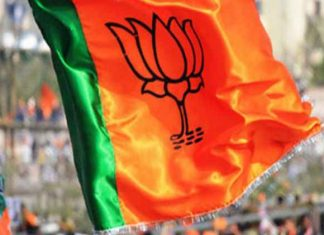People-protest-against-bjp-cnadidate