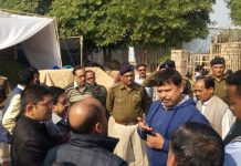 mla-and-commissioner-take-a-look-of-preparation-on-tansen-mahotsav