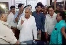 ratlam-beating-the-abvp-workers-in-police-station