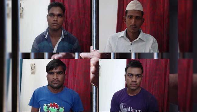 Five-arrested-including-mastermind-of-neemuch-jail-break-case