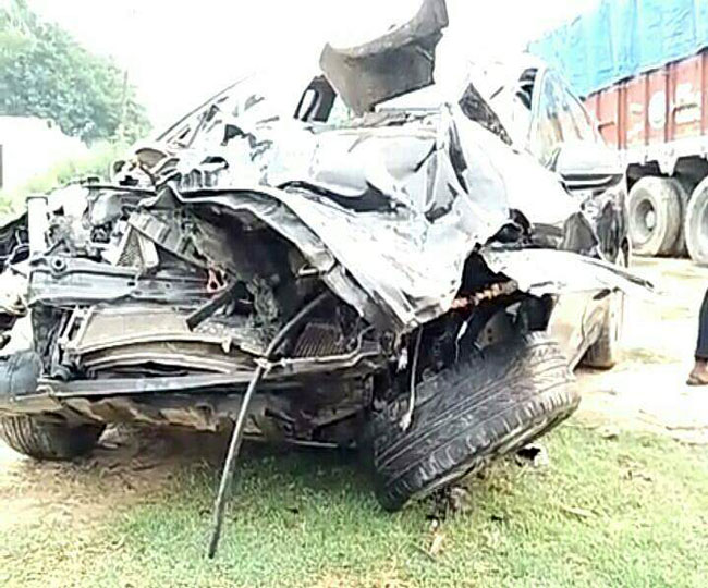son-of-uttarakhand-minister-arvind-pandey-died-in-road-accident