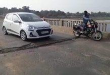 hoshangabad-state-highway-crack