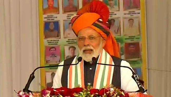after-air-strike-in-pakistan-pm-narendra-modi-reaches-rajasthans-churu-Will-not-bend-the-country