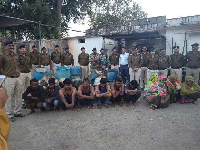 mungwali-police-seize-illegal-liquor-